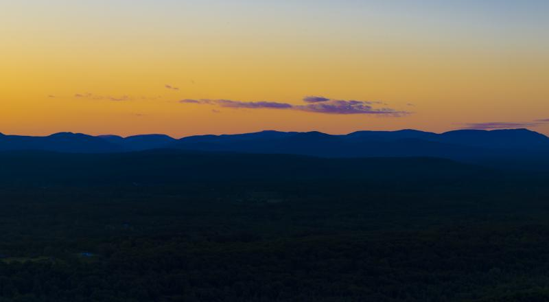 Catskill Sunset. Photo by Steve Aaron