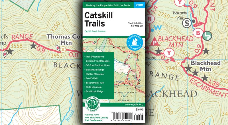 Catskill Map 2018 Now Available