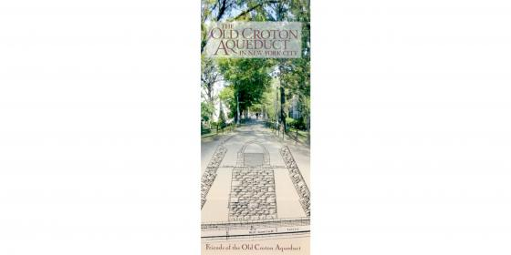 Old Croton Aqueduct Map and Guide: New York City Cover