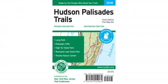 Hudson Palisades Map 2018 Map Cover