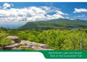 Catskill Map 2018 Scenic Photo