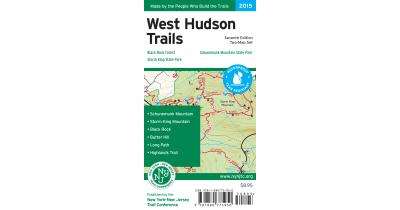 West Hudson Trails Map Cover