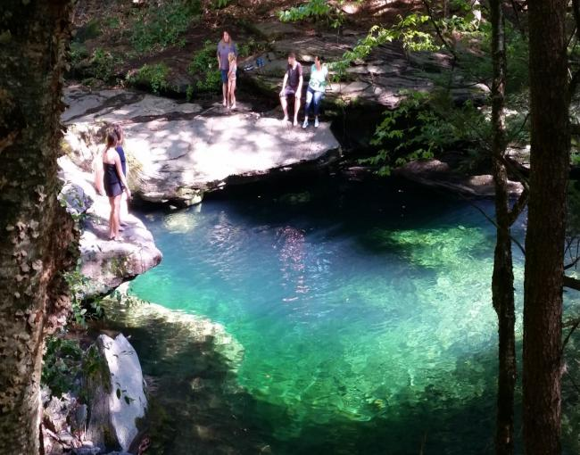 The Blue Hole on Rondout Creek in the Sundown Wild Forest