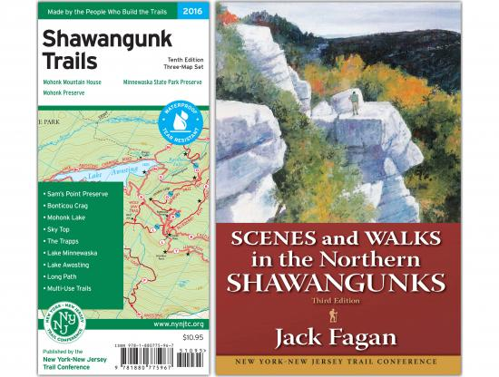 Shawangunk Book and Map Combo