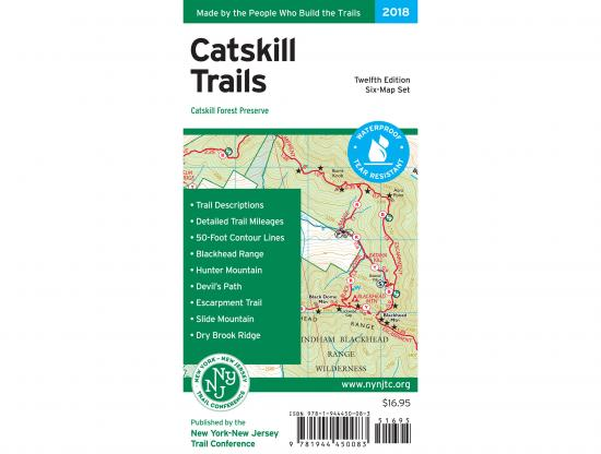 Catskill Map 2018 Cover